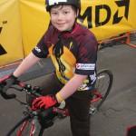 Owain on his bike!